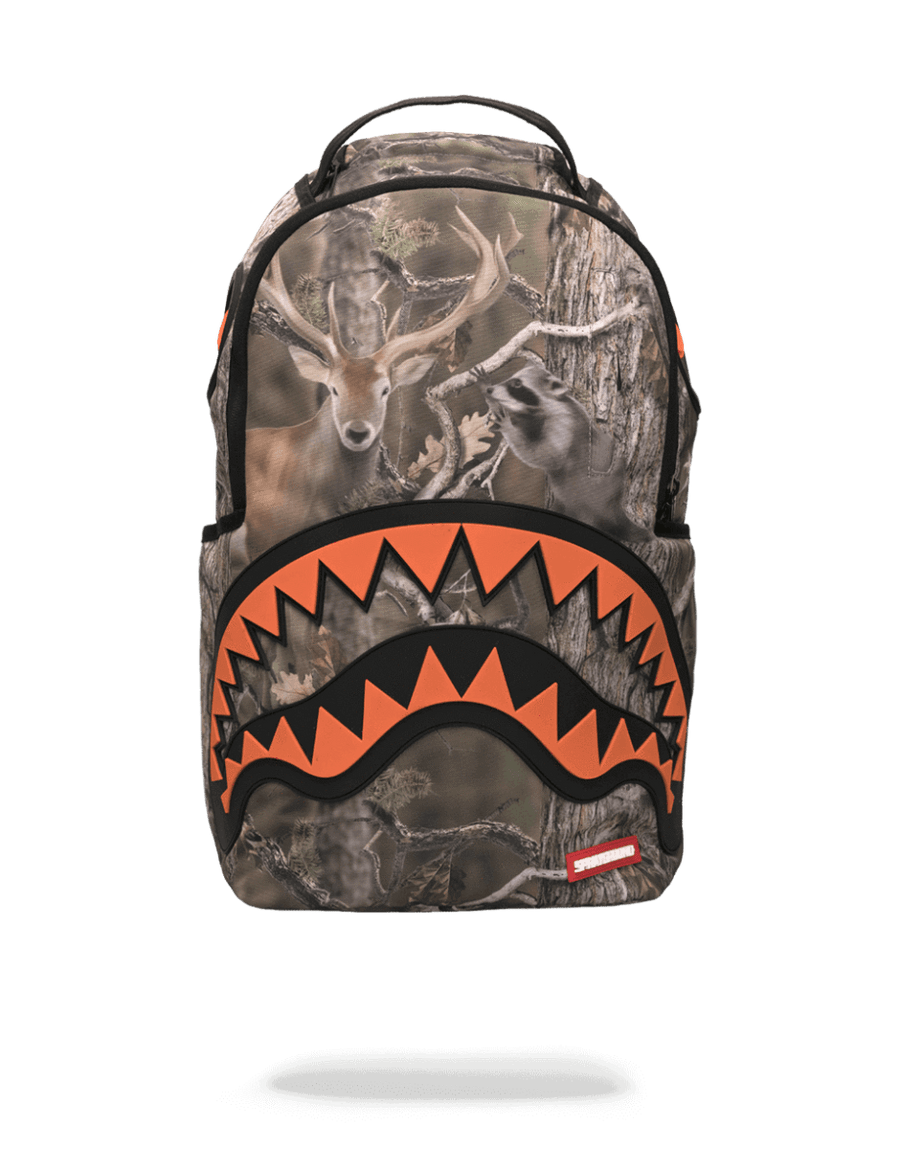 SPRAYGROUND- WILD LIFE HUNTER RUBBER SHARK BACKPACK BACKPACK