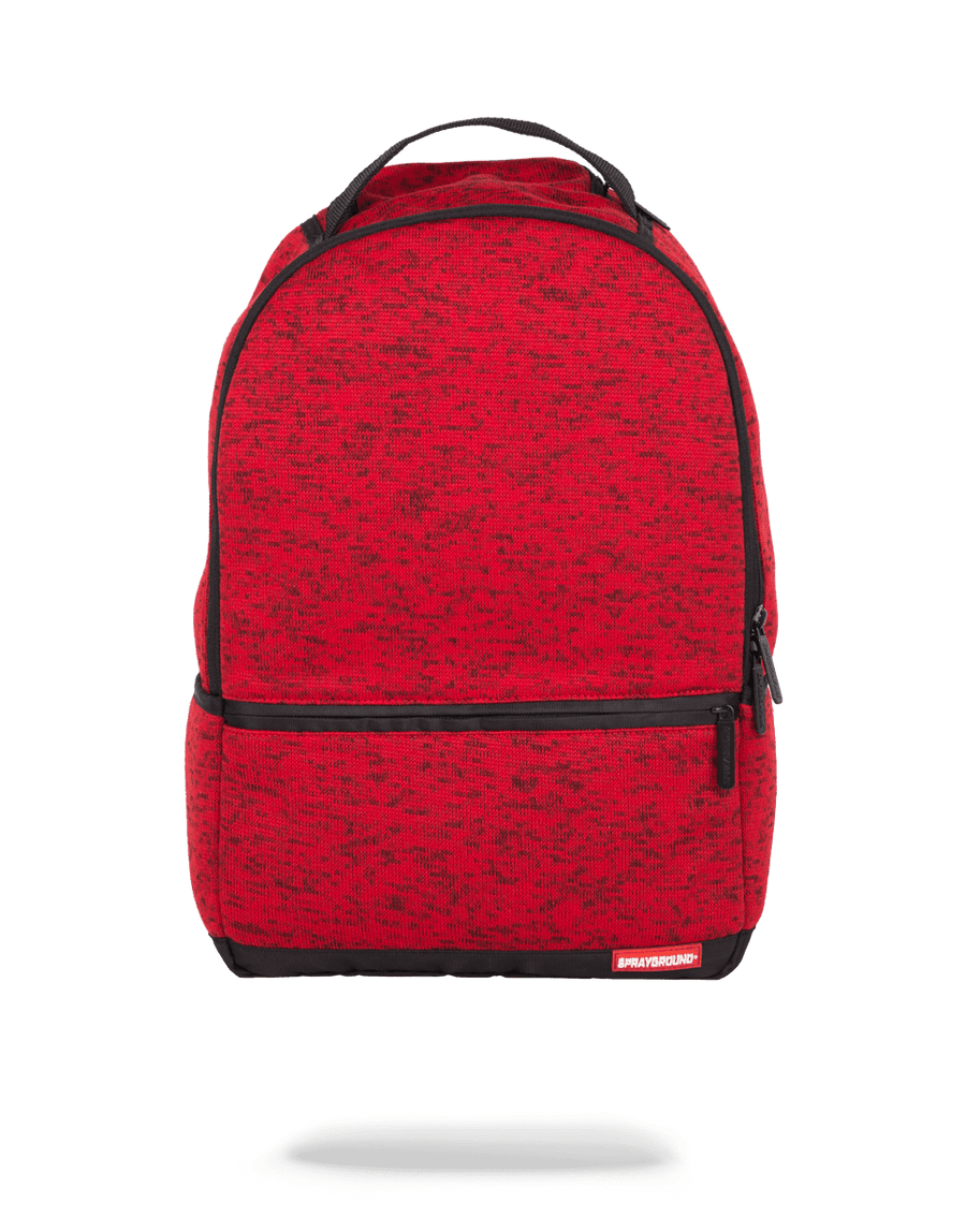 SPRAYGROUND- RED KNIT BACKPACK