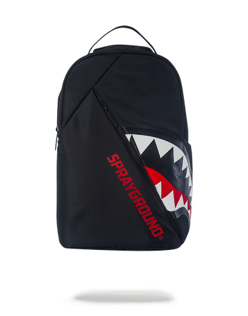 SPRAYGROUND- ANGLED GHOST SHARK BACKPACK