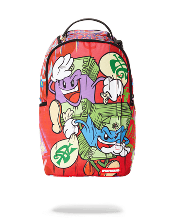 SPRAYGROUND- MONEY STACKS ON THE RUN BACKPACK
