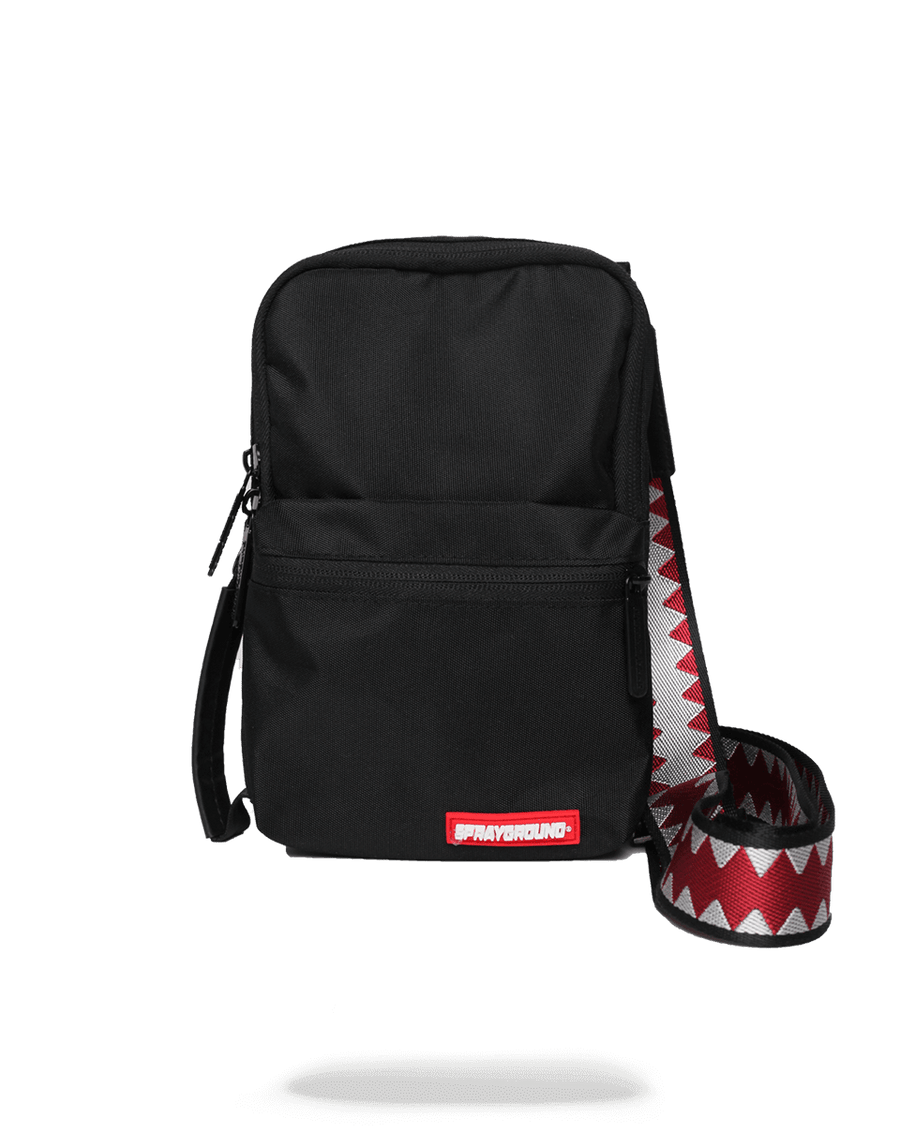 SPRAYGROUND- SOLID BLACK SHARK MINI SLING MINI SLING