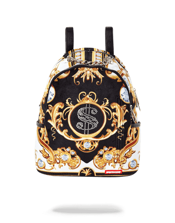 SPRAYGROUND- PALACE OF SHARKS DIAMONDS SAVAGE WOMENS BACKPACK