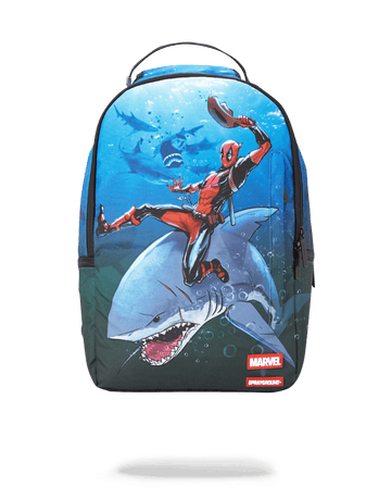 SPRAYGROUND- DEADPOOL ATTACK SHARK BACKPACK