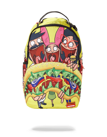 SPRAYGROUND- BOBS BURGER SHARK BACKPACK