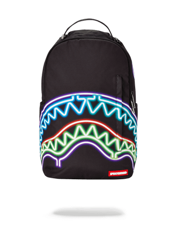 SPRAYGROUND- NEON SHARK BACKPACK
