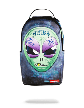 SPRAYGROUND- 3D LENTICULAR ALIEN HEAD BACKPACK