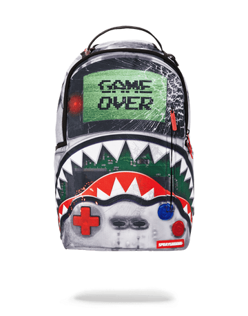 SPRAYGROUND- GAME OVER SHARK BACKPACK