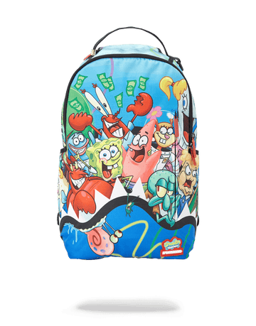 SPRAYGROUND- SPONGEBOB SHARK SQUAD BACKPACK