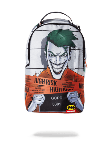 SPRAYGROUND- JOKER MUG SHOT BACKPACK