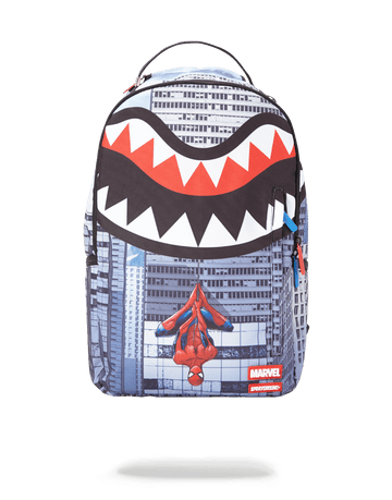 SPRAYGROUND- SPIDERMAN UPSIDE DOWN SHARK BACKPACK