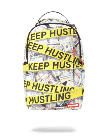 SPRAYGROUND- KEEP HUSTLING BACKPACK