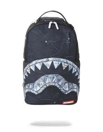 SPRAYGROUND- ORIGAMI SHARK BACKPACK (ONE OF ONE) BACKPACK