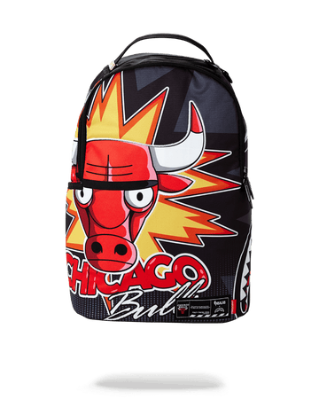 SPRAYGROUND- NBA LAB CHICAGO BULLS SURPRISED BULL BACKPACK