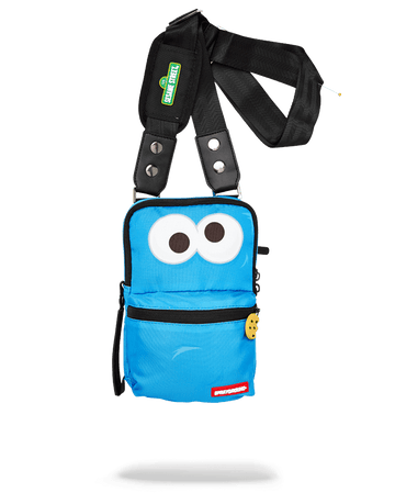 SPRAYGROUND- COOKIE MONSTER SHARK SLING SLING
