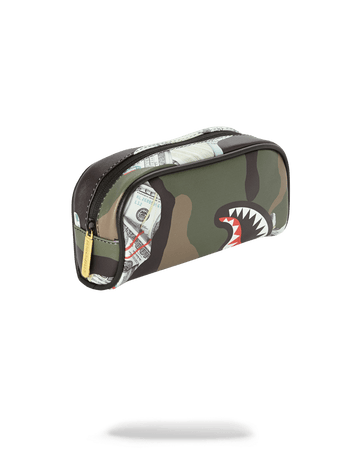 SPRAYGROUND- CAMO MONEY PENCIL CASE PENCIL CASE