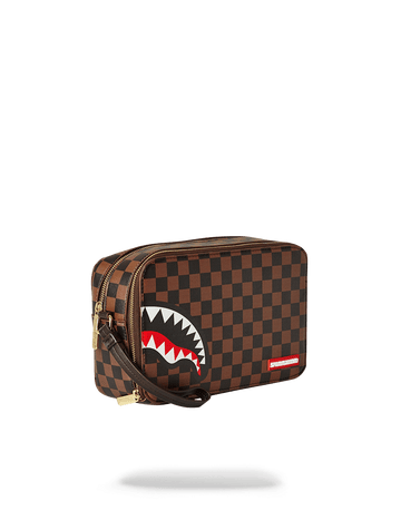 SPRAYGROUND- SHARKS IN PARIS TOILETRY BAG TOILETRY