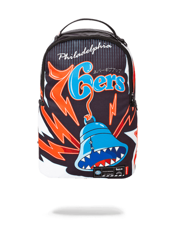 SPRAYGROUND- NBA LAB PHILADELPHIA 76ERS BELL SHARK BACKPACK