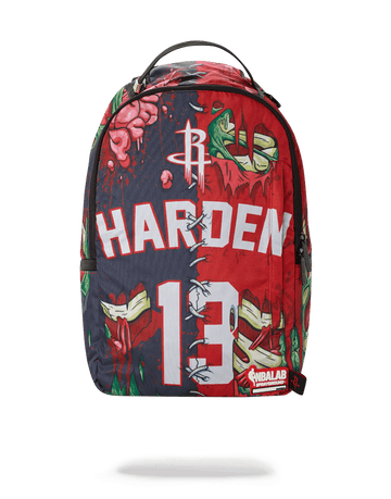 SPRAYGROUND- NBA LAB HARDEN ZOMBIE BACKPACK