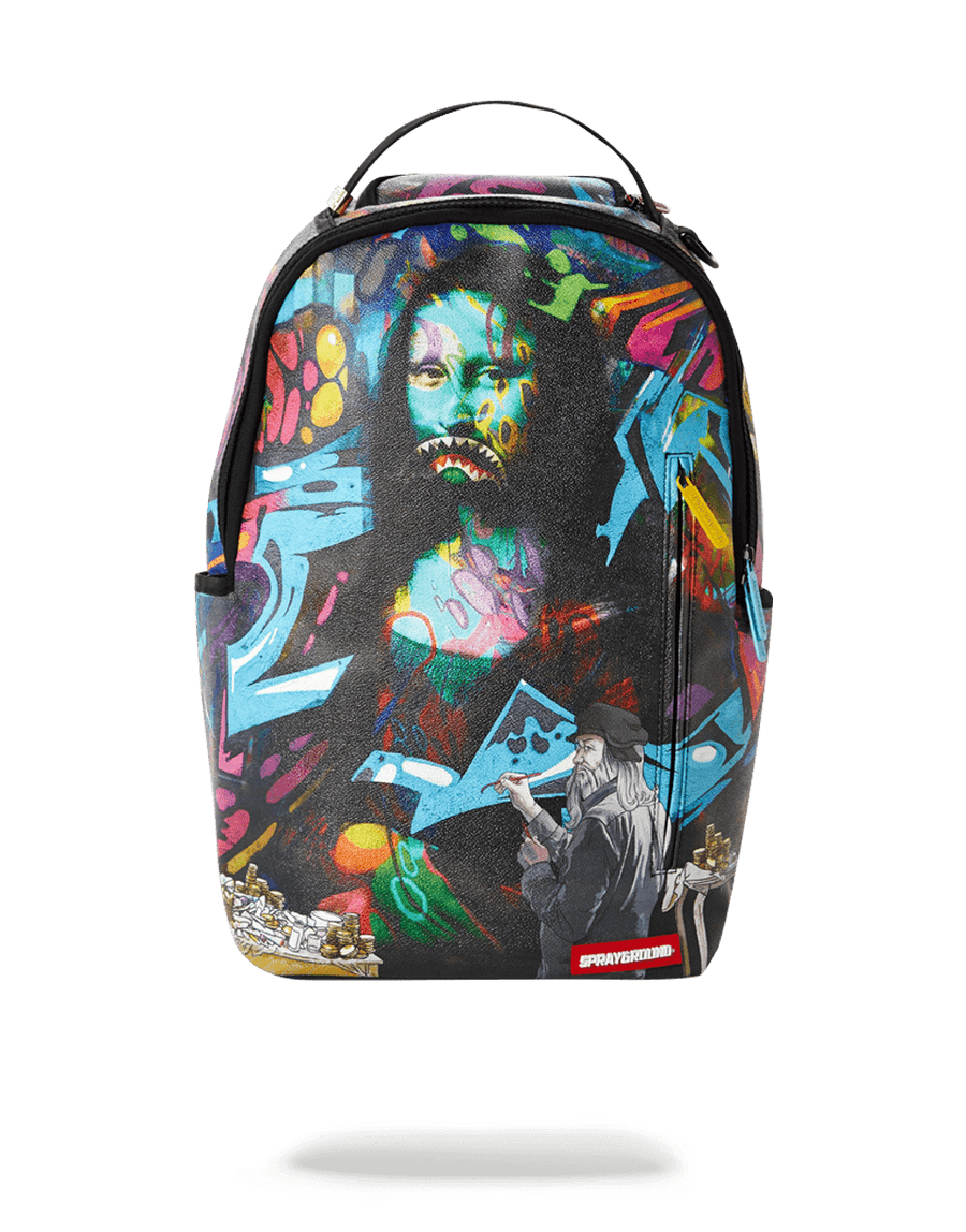 SPRAYGROUND- LEONARDO SHARK VINCI BACKPACK