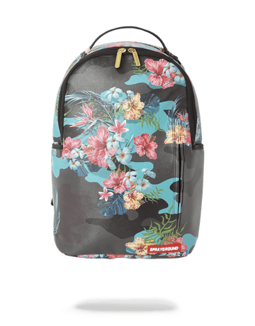 SPRAYGROUND- FLORAL CAMO BACKPACK (ONE OF ONE) BACKPACK