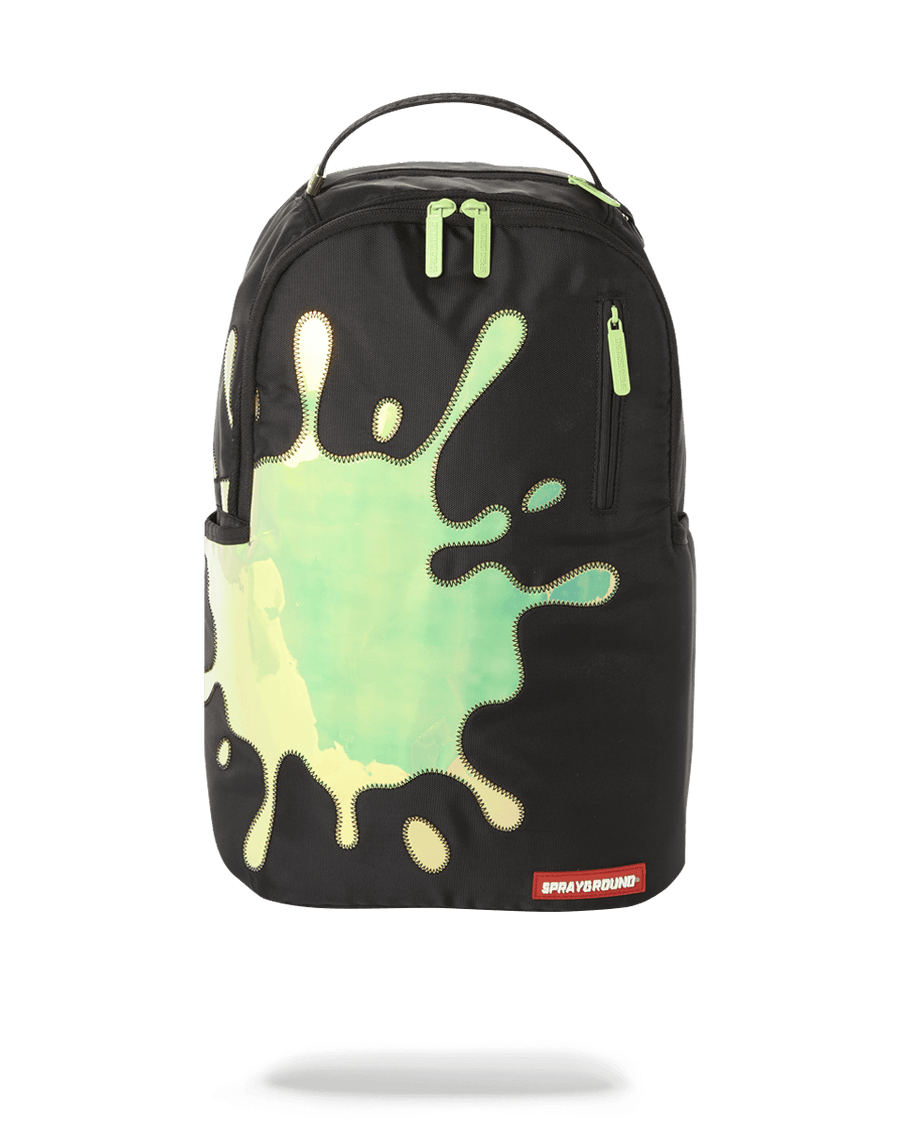 BLUE MIRROR REFLECTIVE SPLAT BACKPACK (ONE OF ONE)