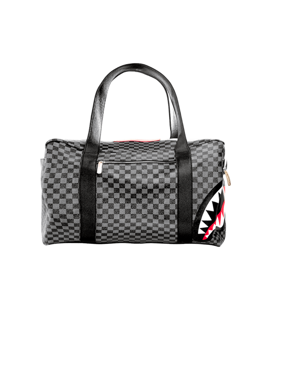 SPRAYGROUND- SHARKS IN PARIS (BLACK) DUFFLE DUFFLE