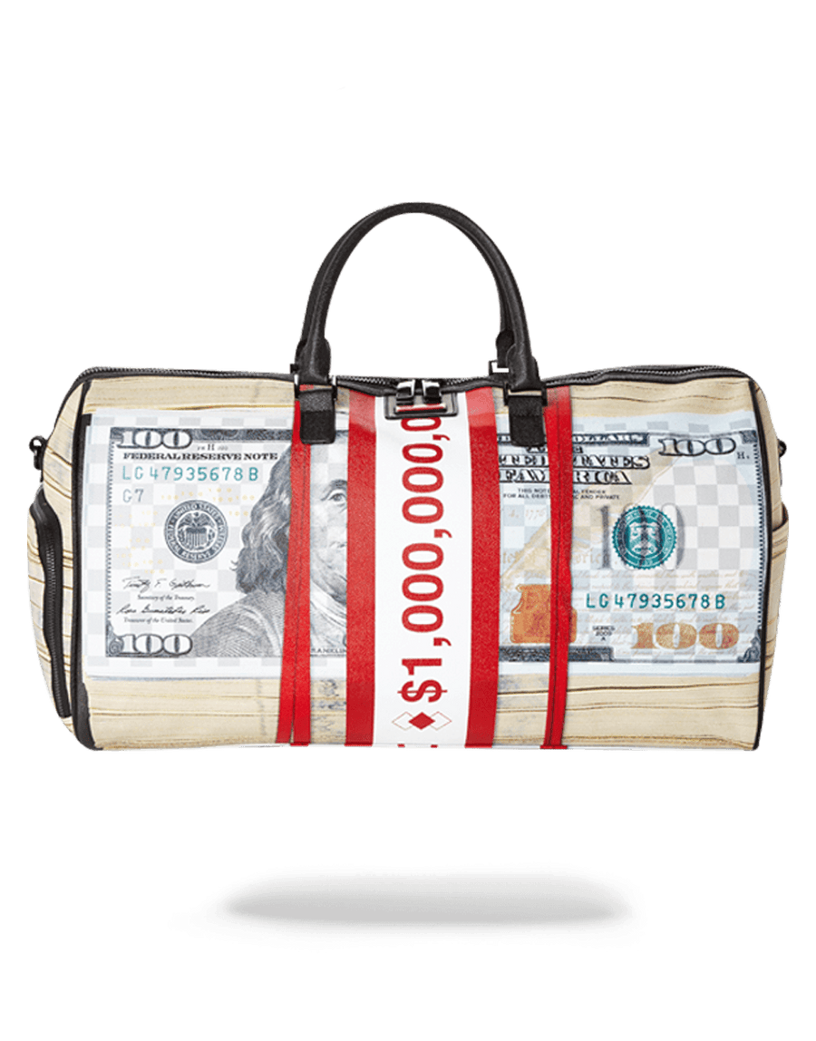 SPRAYGROUND- MONEY BANDS DUFFLE DUFFLE