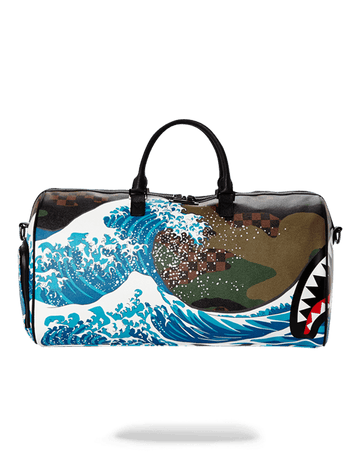 CAMOKAWA WAVE SHARK DUFFLE