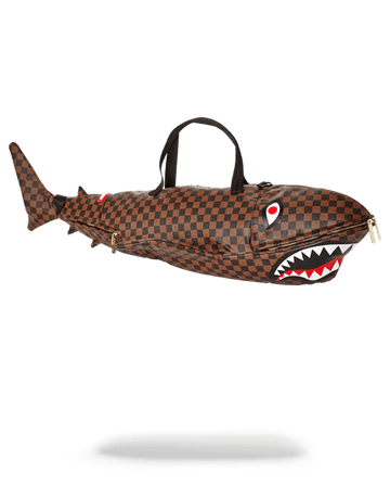 SPRAYGROUND- A SHARK IN PARIS DUFFLE