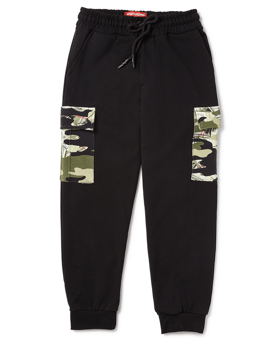 SPRAYGROUND- CAMO MONEY JOGGER APPAREL