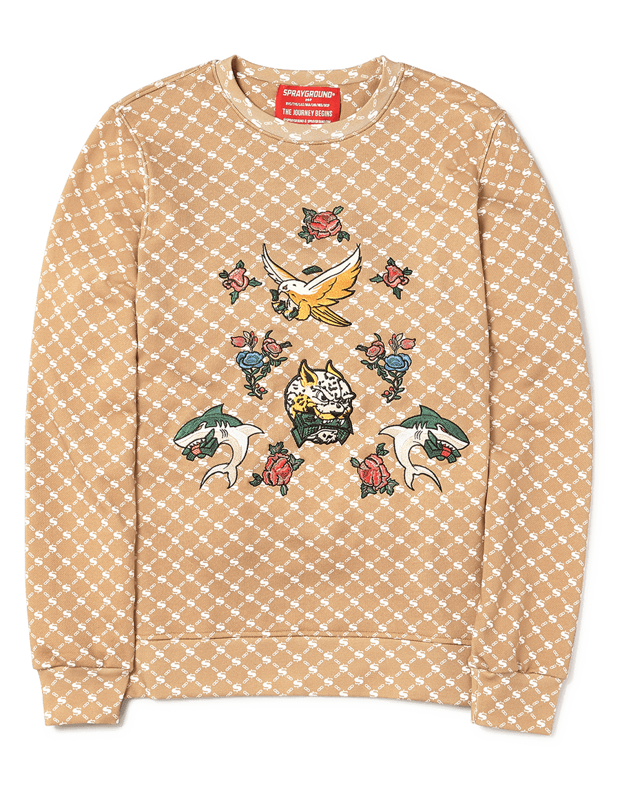 SPRAYGROUND- AIR ITALIA CREWNECK APPAREL