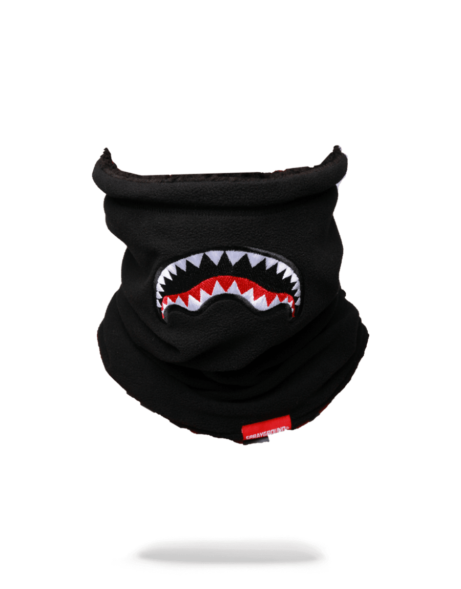 SPRAYGROUND- BLACK NECK WARMER SKI MASK