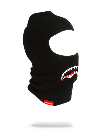 SPRAYGROUND- SHARK SKI MASK (BLACK) SKI MASK