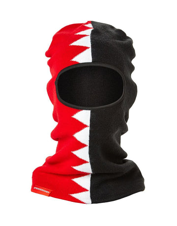 SPRAYGROUND- SPLIT SHARK SKI MASK SKI MASK