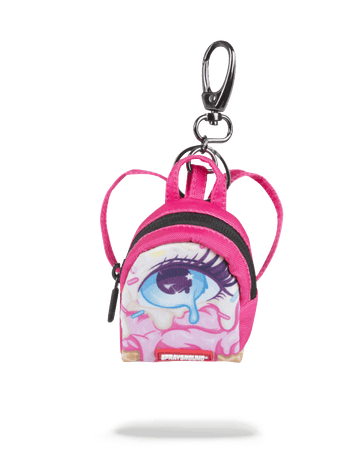 SPRAYGROUND- LEFT EYE SCREAM KEYCHAIN KEYCHAIN