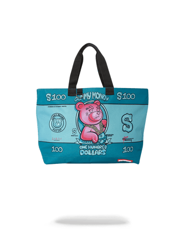SPRAYGROUND- GUMMY MONEY TOTE TOTE
