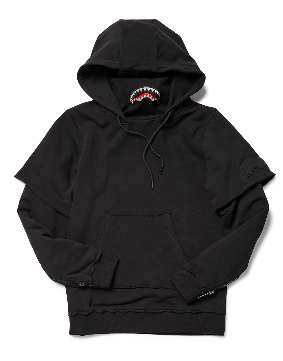 SPRAYGROUND- NINJA FACEMASK HOODIE (BLACK) APPAREL