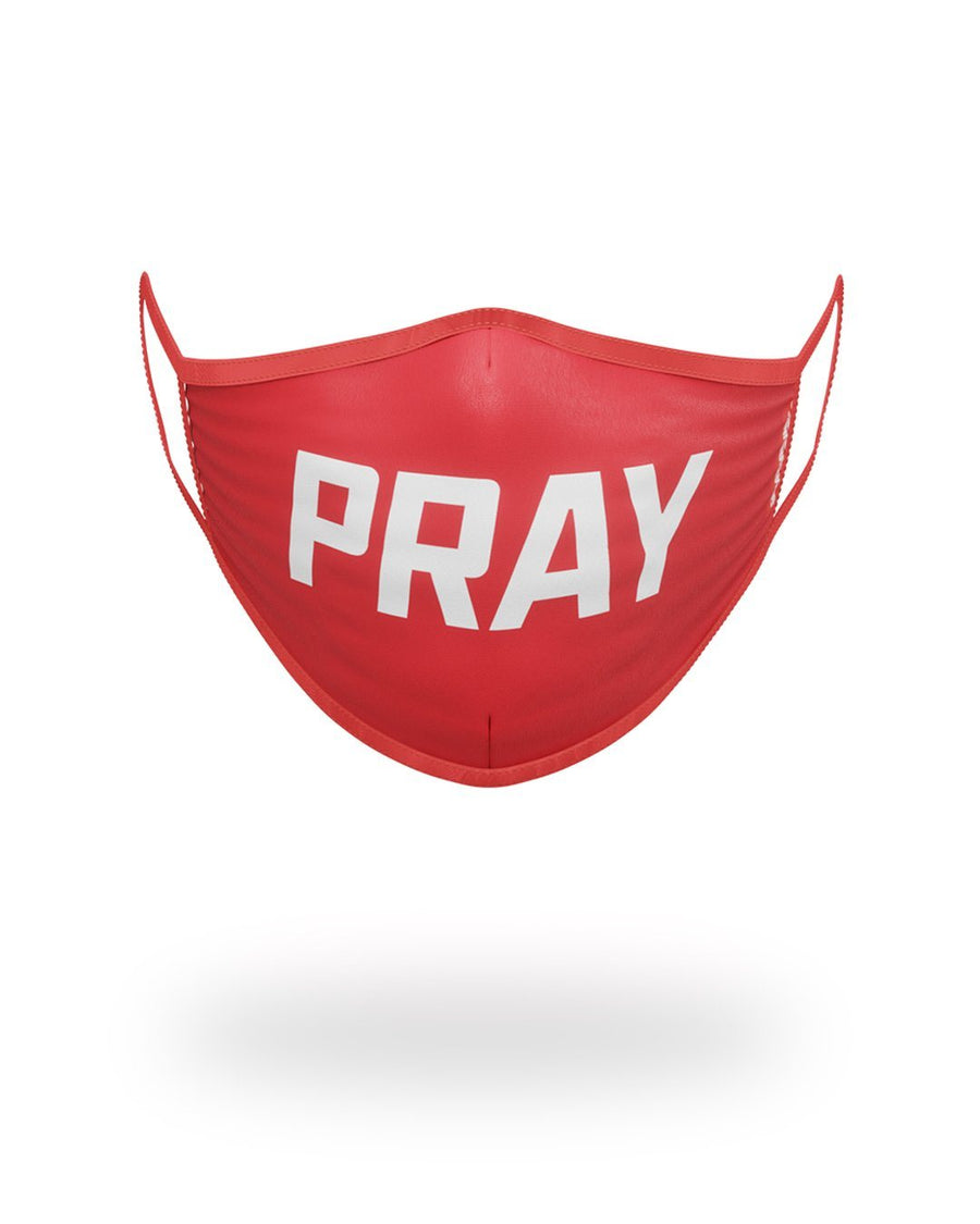 SPRAYGROUND- PRAY FORM-FITTING MASK FASHION MASK