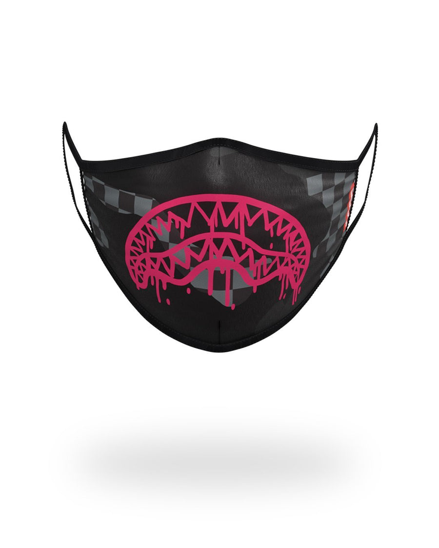 SPRAYGROUND- 3AM SHARK FORM-FITTING MASK FASHION MASK