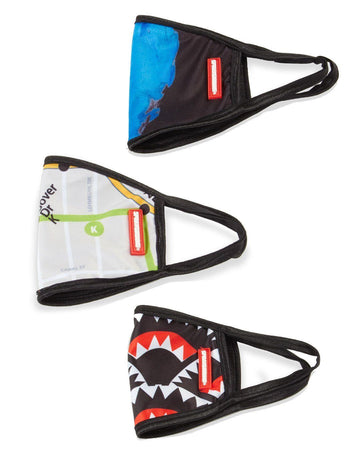 SPRAYGROUND- KIDS REVERSIBLE CLASSIC FIT FASHION MASK (MYSTERY PACK) FASHION MASK