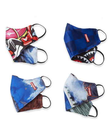 REVERSIBLE SPORT FIT ADULT FASHION MASK (MYSTERY PACK)