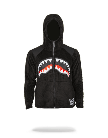 SPRAYGROUND- SHARK FLEECE OUTERWEAR