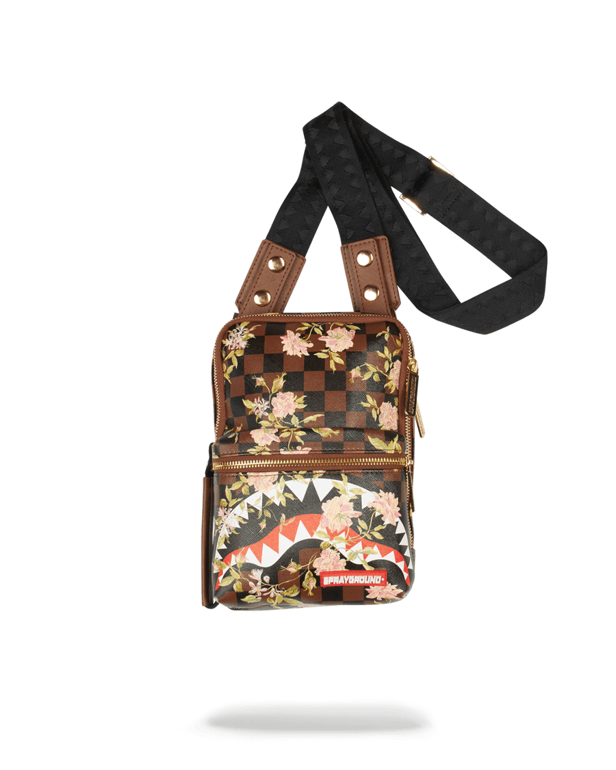 SHARKFLOWER CROSSBODY SLING