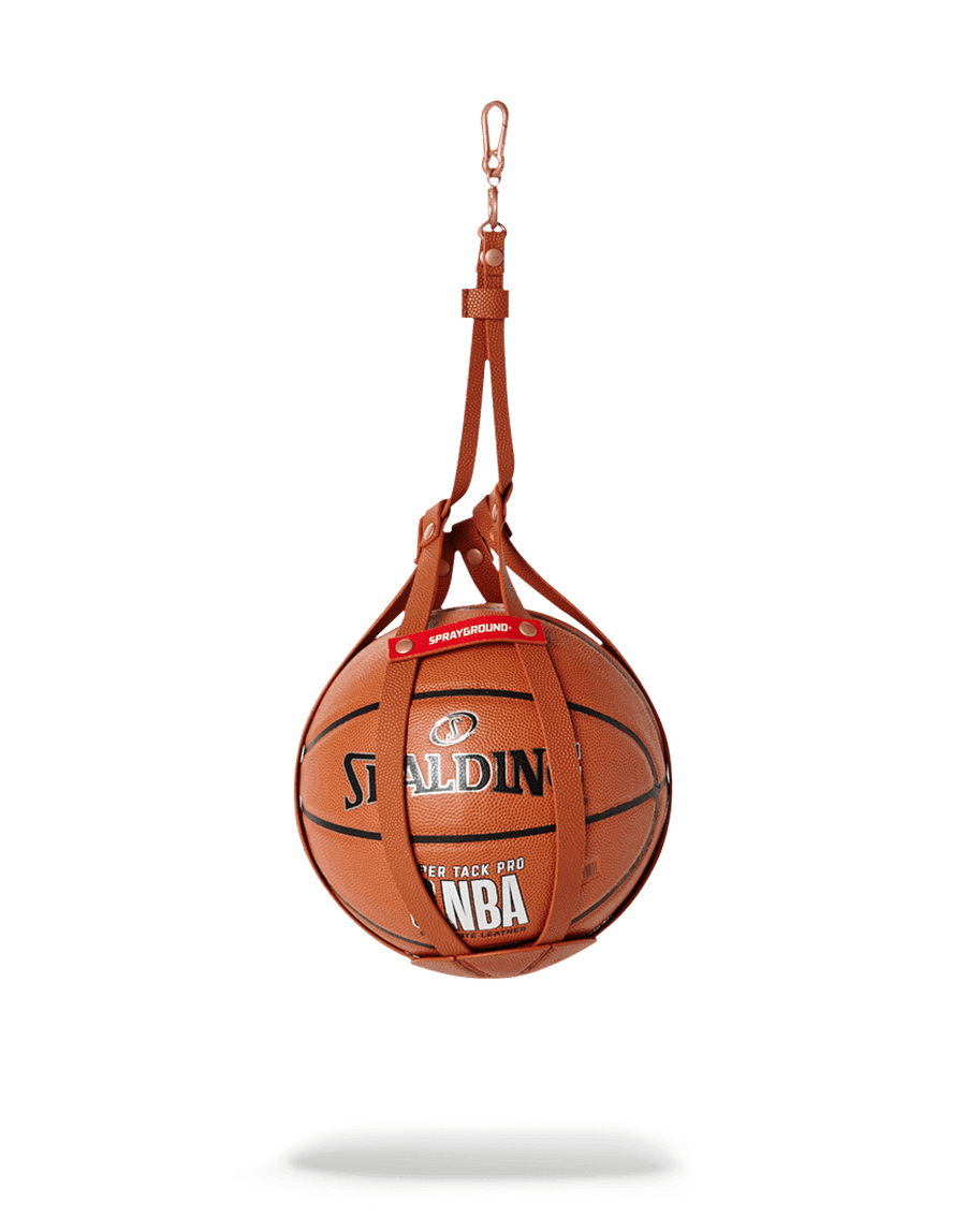 SPRAYGROUND- SPALDING X SPRAYGROUND BALL HOLDER BASKETBALL