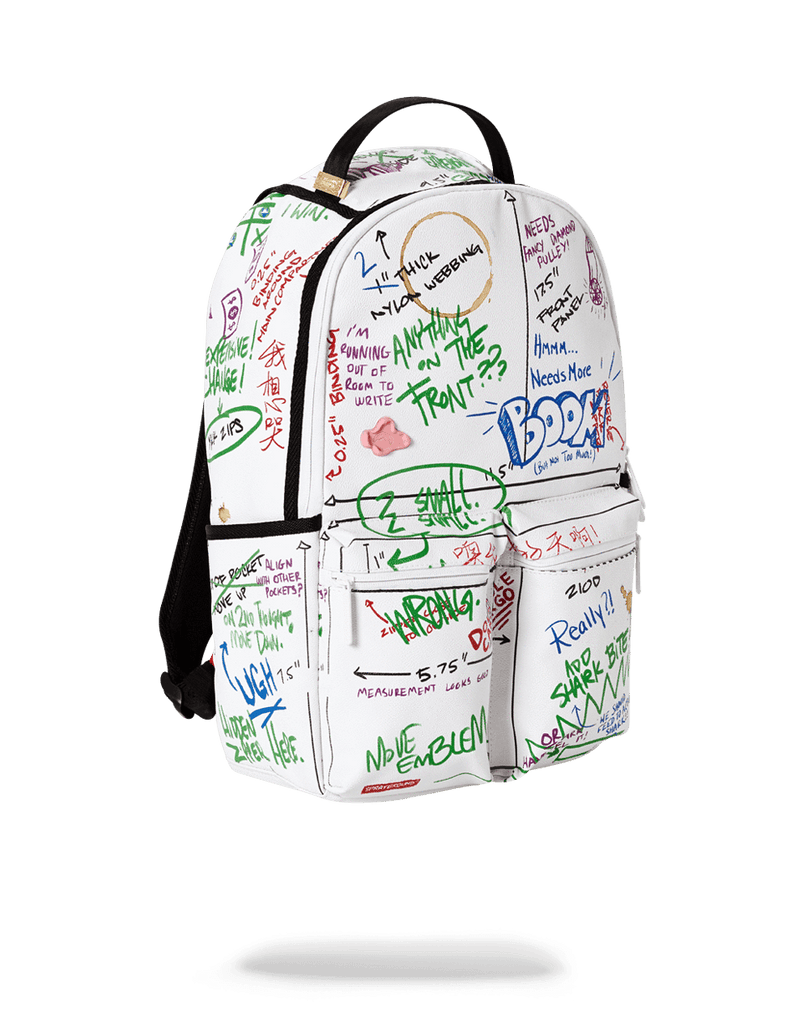SPRAYGROUND- THE PROCESS OF CREATING BACKPACK