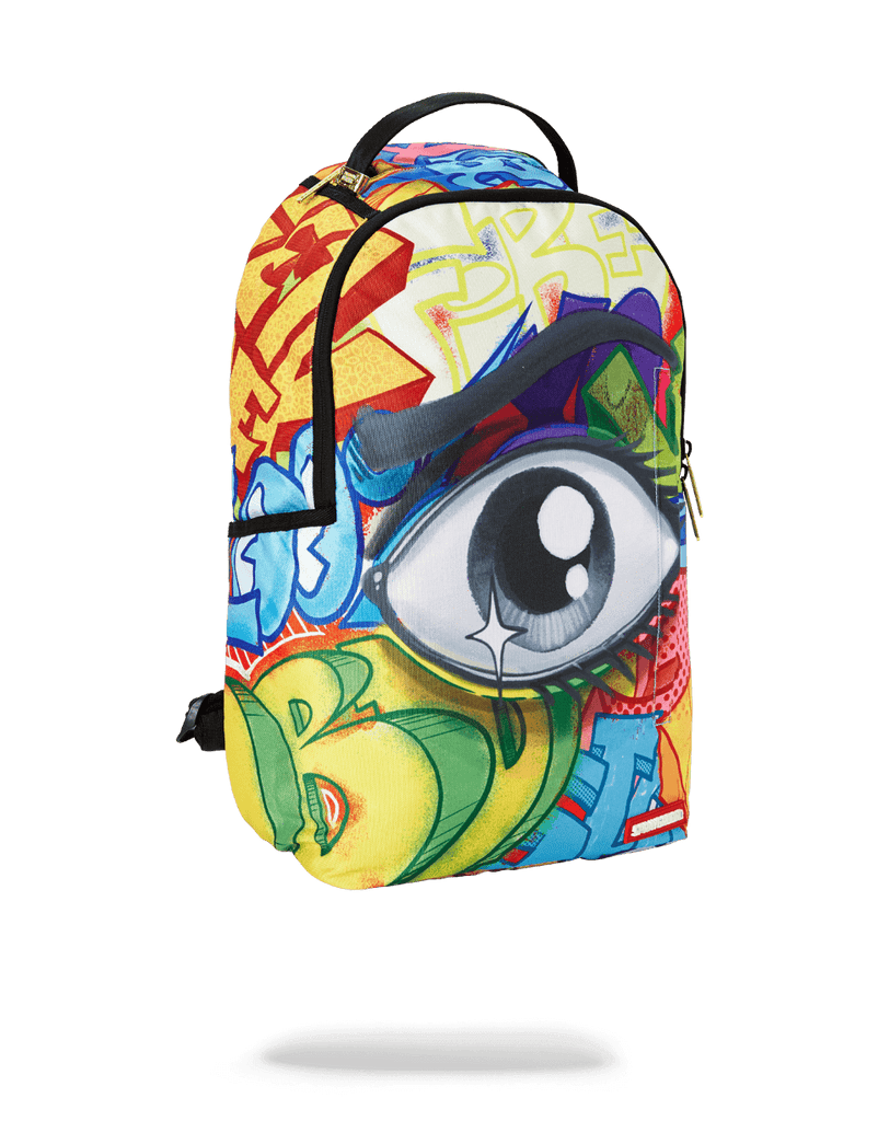 SPRAYGROUND- GRAFFITI EYE BACKPACK