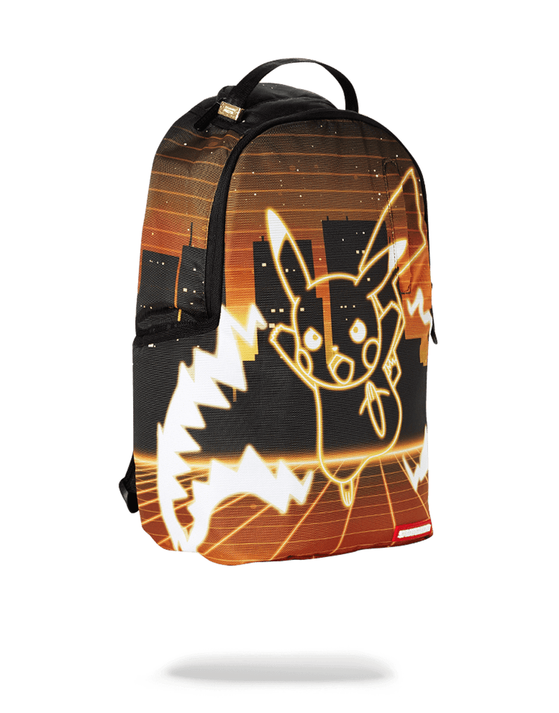 SPRAYGROUND- POKEMON PIKACHU NEON SHARK BACKPACK