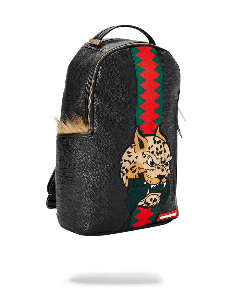SPRAYGROUND- LEOPARD FUR MONEY BACKPACK