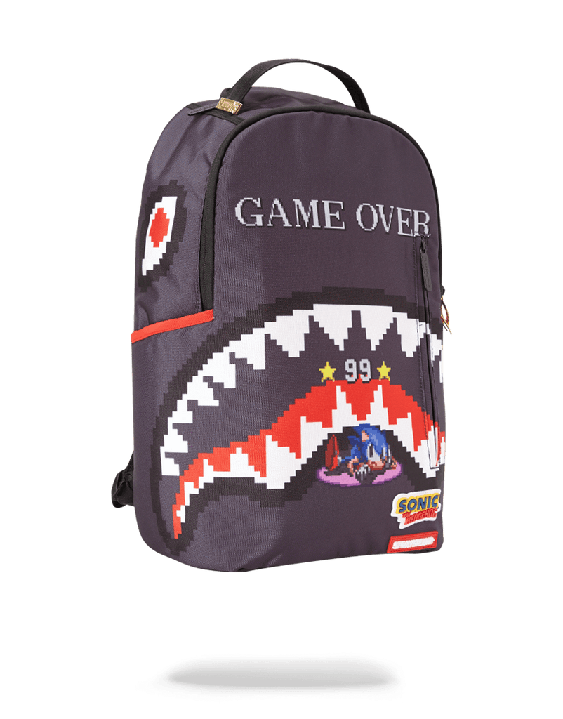 SPRAYGROUND- SONIC GAME OVER SHARK BACKPACK