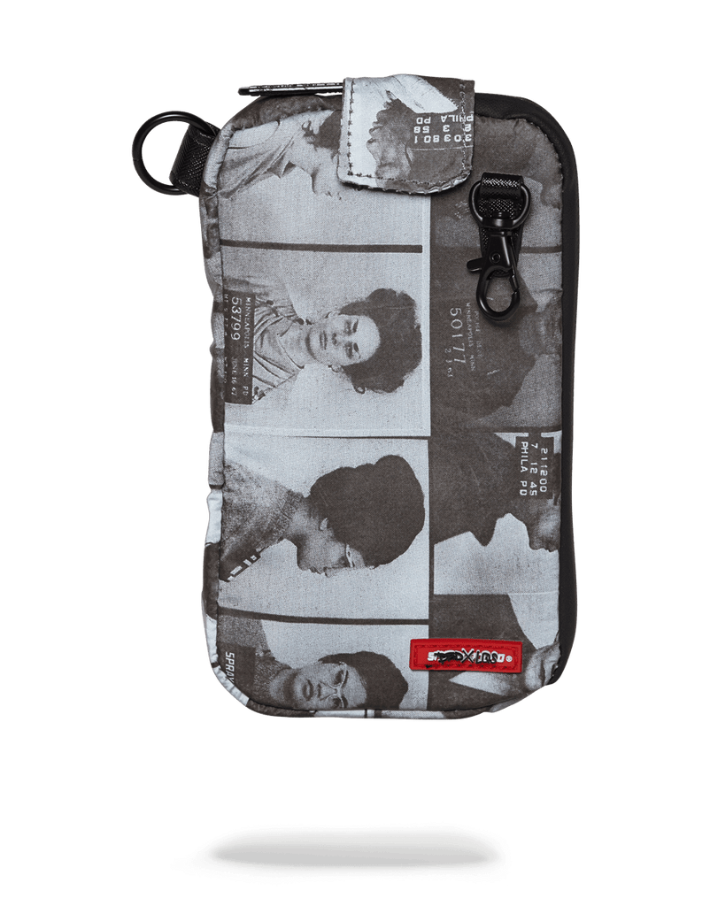 SPRAYGROUND- LAQUAN SMITH SCAMMER 3M POUCH (SMELL PROOF) CLUTCH